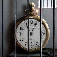 Bail Bondsman clock