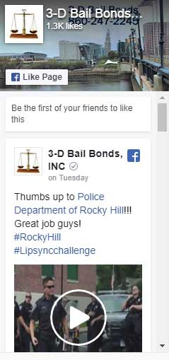 follow 3d bail bonds on facebook, bail bonds ct, bondsman, bail bondsmen hartford, bail bonds connecticut, local bondsman, bail bonds ct