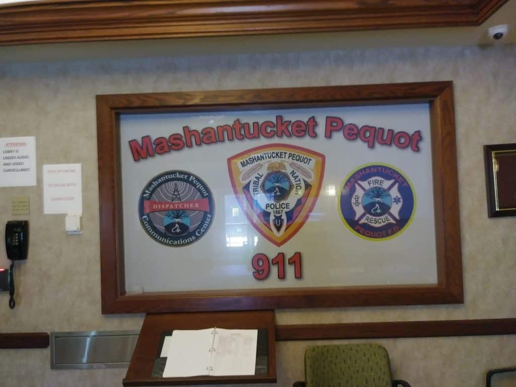 pequot police, arrested near the casinos, Mashantucket tribal court