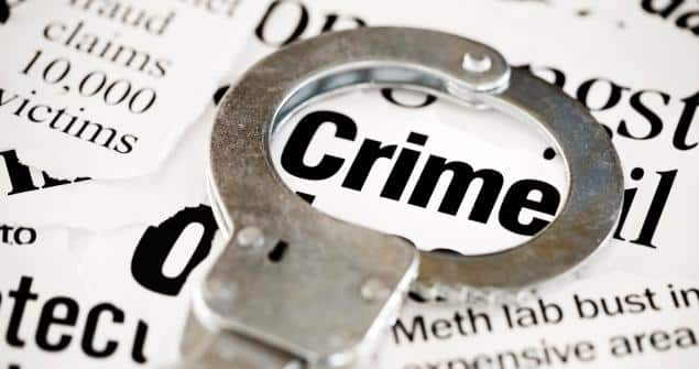 Meriden crime statistics for 2018, the crime rate in Meriden, crimes ct