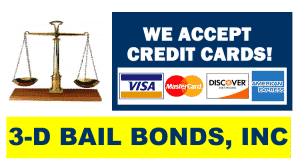 credit cards bail bonds