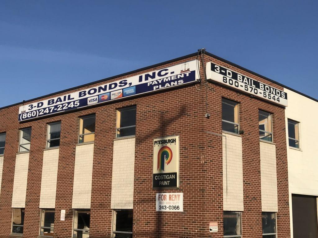 Hartford bail bonds near police